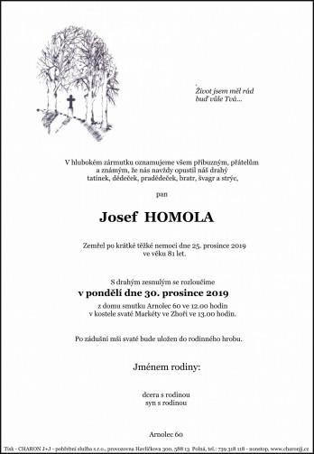 pan Josef HOMOLA