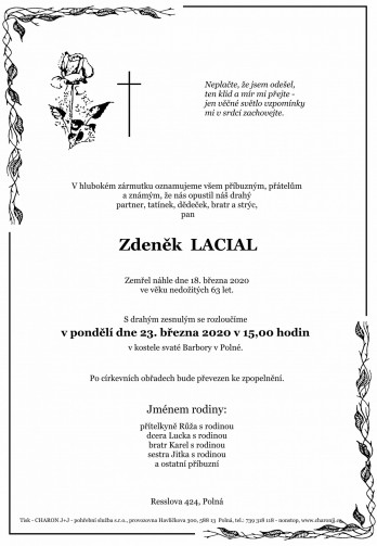 pan Zdeněk LACIAL