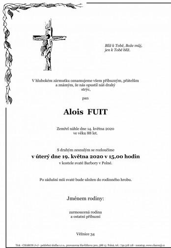pan Alois FUIT