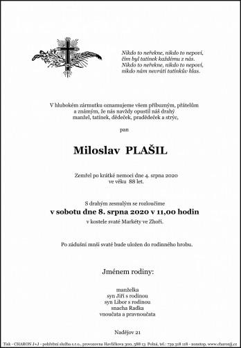 pan Miloslav PLAŠIL