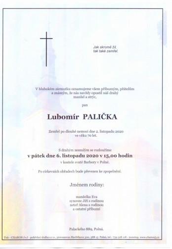 pan Lubomír PALIČKA