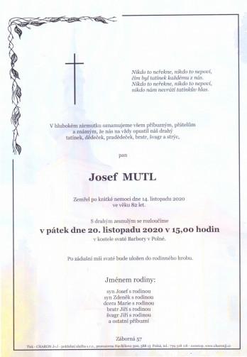 pan Josef MUTL
