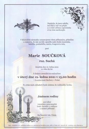 paní Marie SOUČKOVÁ
