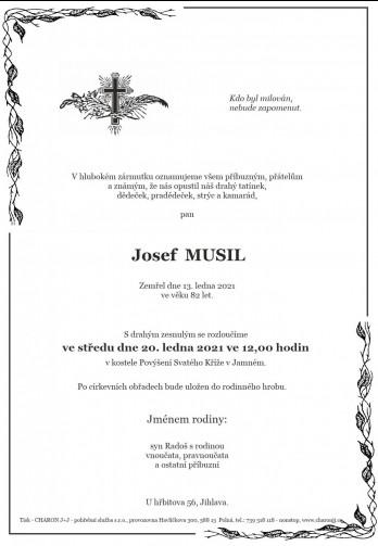 pan Josef MUSIL