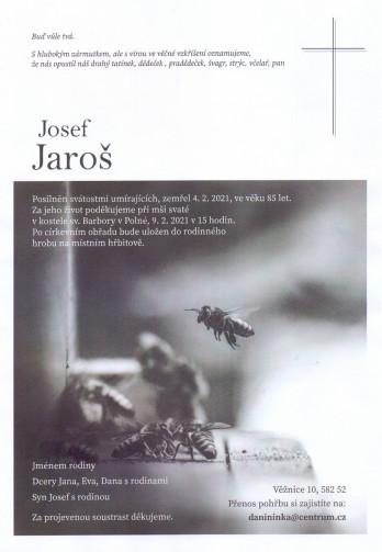 pan Josef JAROŠ