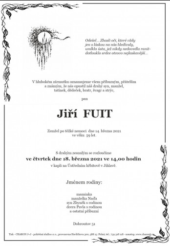 pan Jiří FUIT