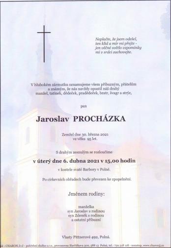 pan Jaroslav PROCHÁZKA