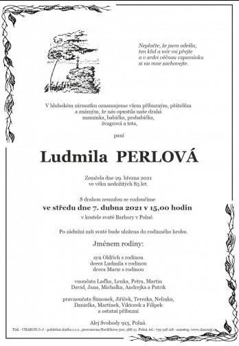 paní Ludmila PERLOVÁ