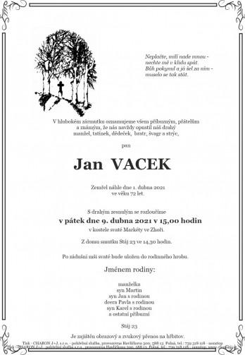 pan Jan VACEK