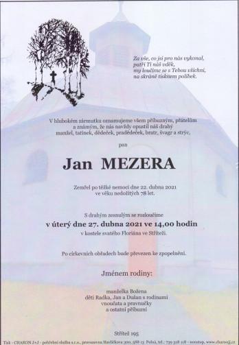 pan Jan MEZERA