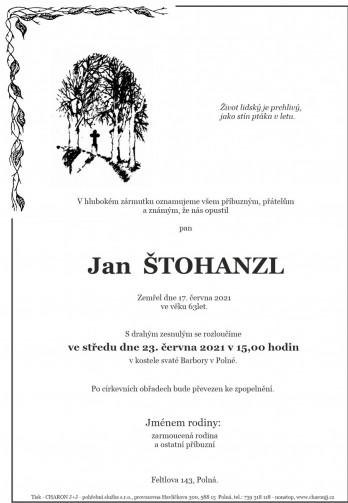 pan Jan ŠTOHANZL